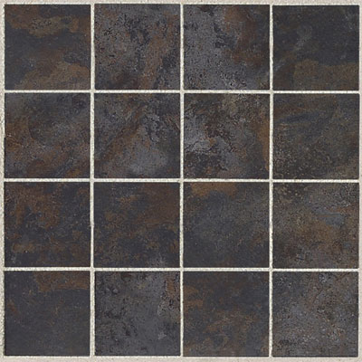 American Olean Amber Valley 3 x 3 Mosaic River Moss Tile & Stone