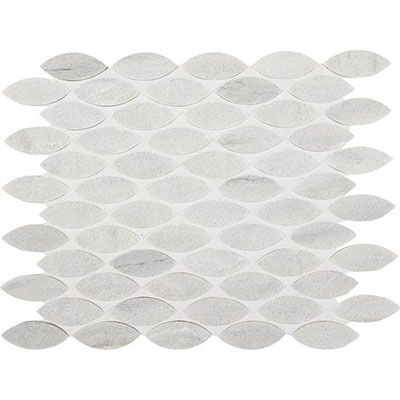 American Olean Ascend Leaf Mosaic 1 x 2 Candid Heather Tile & Stone