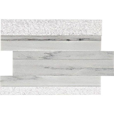 American Olean Ascend Modern Stack Mosaic Candid Heather Tile & Stone
