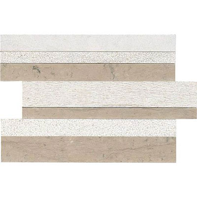 American Olean Ascend Modern Stack Mosaic Gray Virtue Tile & Stone