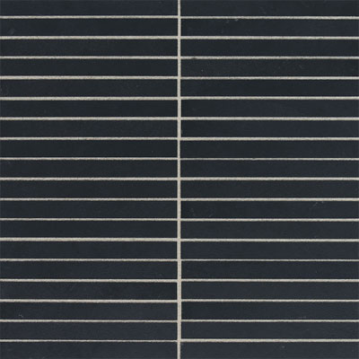 American Olean Avenue One 1/2 x 6 Mosaic Blackout Tile & Stone