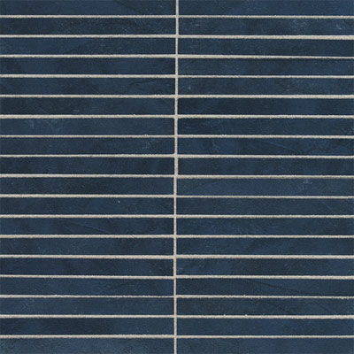 American Olean Avenue One 1/2 x 6 Mosaic Midnight Sky Tile & Stone