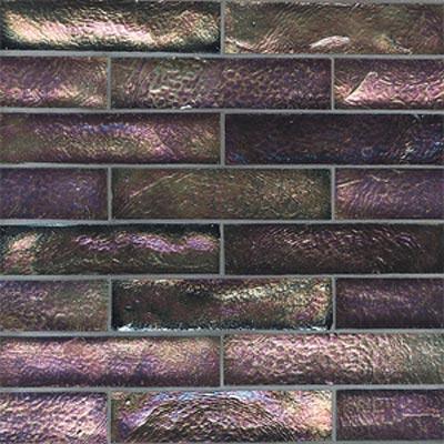 American Olean Candalara Glass Brick Mosaic Black Pearl Tile & Stone