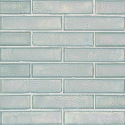 American Olean Candalara Glass Brick Mosaic Glacier Mist Tile & Stone
