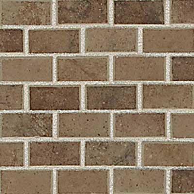 American Olean Costa Rei Mosaic 1 x 2 Terra Marrone Tile & Stone