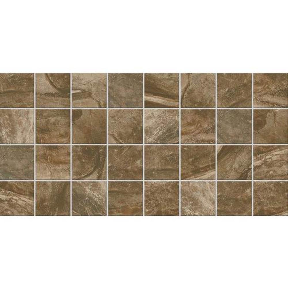 American Olean Danya Mosaic 3 x 3 Riverbed Tile & Stone