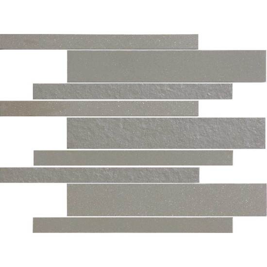 American Olean Decorum Modern Liner Mosaic Dignified Gray Tile & Stone
