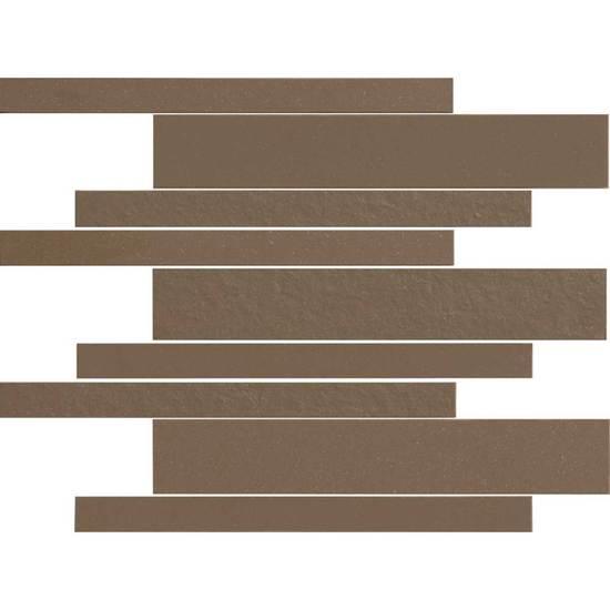 American Olean Decorum Modern Liner Mosaic Formal Brown Tile & Stone