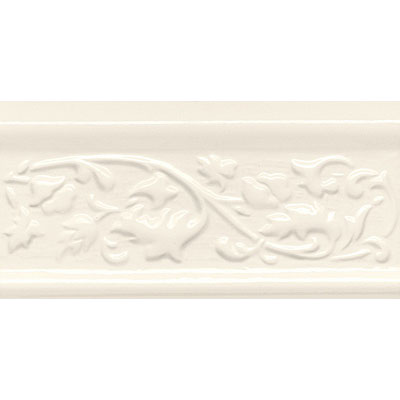 American Olean Designer Elegance Accents Biscuit Orlando 2 x 8 Chair Rail Tile & Stone