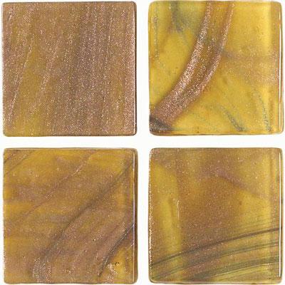 American Olean Designer Elegance Accents Opalescence Tigers Eye Dot Tile & Stone