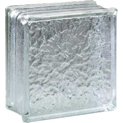 Daltile Glass Block Icescapes 8 x 8 Icescapes Block Tile & Stone
