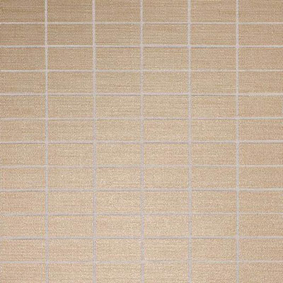 American Olean Infusion Mosaic Fabric Gold Fabric Mosaic Tile & Stone