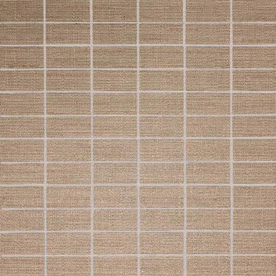 American Olean Infusion Mosaic Fabric Taupe Fabric Mosaic Tile & Stone