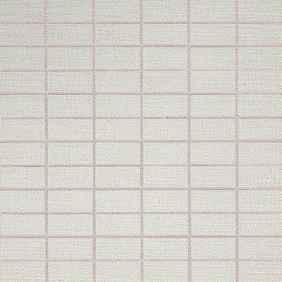 American Olean Infusion Mosaic Fabric White Fabric Mosaic Tile & Stone