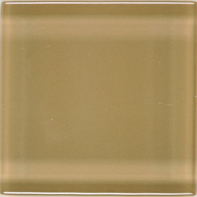 American Olean Legacy Glass 4 x 4 Camel Tile & Stone