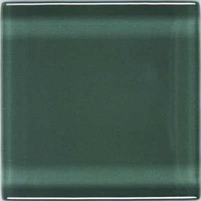 American Olean Legacy Glass 4 x 4 Pewter Tile & Stone