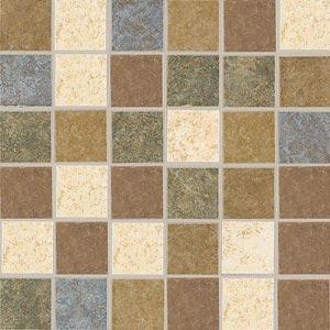 American Olean Lyndhurst Mosaic Meadow Blend Tile & Stone