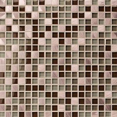 American Olean Morello Mosaic 1 x 1 Topaz Tile & Stone