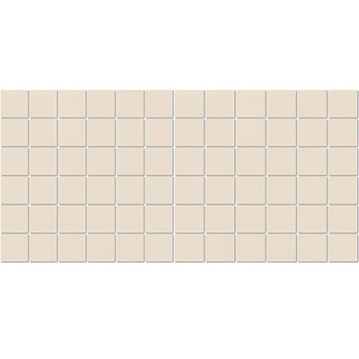 American Olean Satinbrites Glazed Ceramic 2 x 2 Almond Tile & Stone