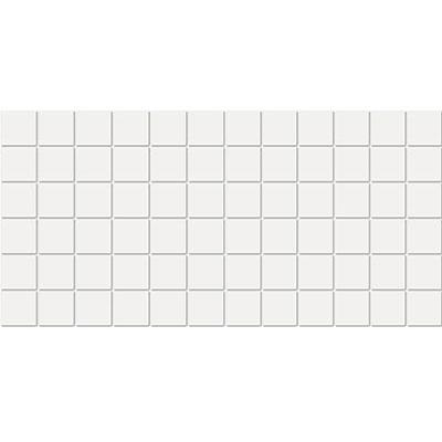 American Olean Satinbrites Glazed Ceramic 2 x 2 Ice White Tile & Stone