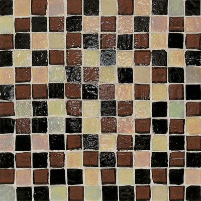 American Olean Solare Glass Mosaics Blends Deep Woods Tile & Stone