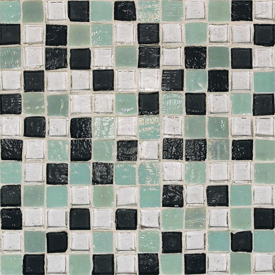 American Olean Solare Glass Mosaics Blends Forest Tile & Stone