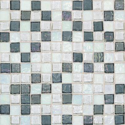 American Olean Solare Glass Mosaics Blends Glacier Tile & Stone