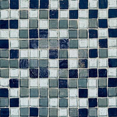 American Olean Solare Glass Mosaics Blends Spring Rain Tile & Stone