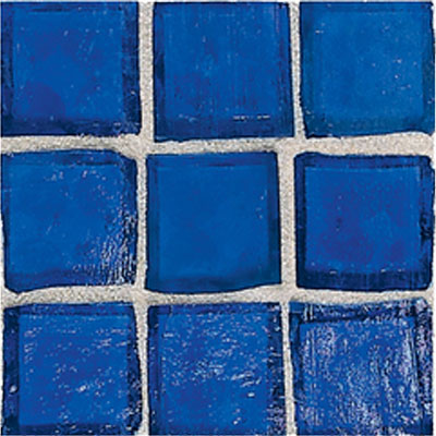 American Olean Solare Glass Mosaics Cobalt Tile & Stone