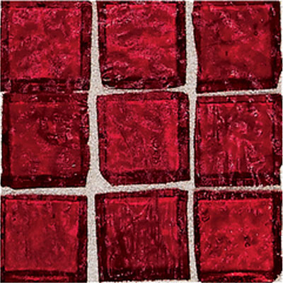American Olean Solare Glass Mosaics Coral Reef Tile & Stone