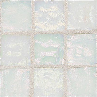 American Olean Solare Glass Mosaics Frost Tile & Stone