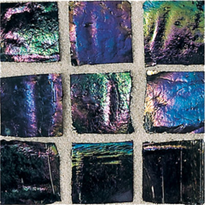 American Olean Solare Glass Mosaics Lava Rock Tile & Stone