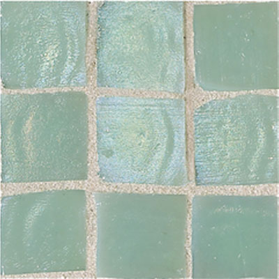 American Olean Solare Glass Mosaics Mint Tile & Stone