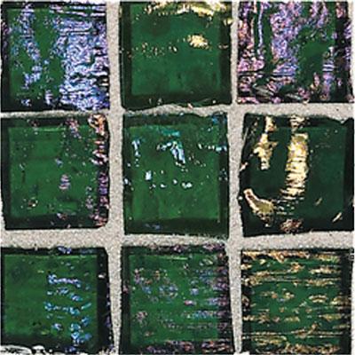 American Olean Solare Glass Mosaics Rainforest Tile & Stone