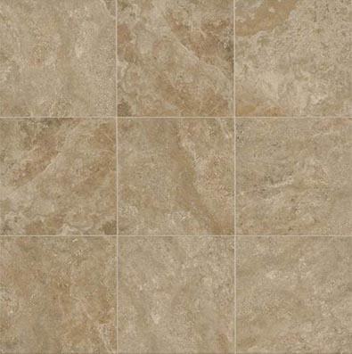 American Olean Stone Claire 20 x 20 Floor Russet Tile & Stone