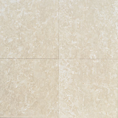 American Olean Stone Source Marble and Onyx 18 x 18 Botticino Fiorito Polished Tile & Stone