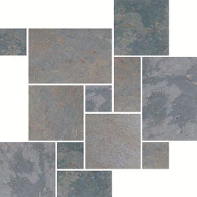 American Olean Stone Source Slate Pattern Versailles Indian Versailles Tile & Stone
