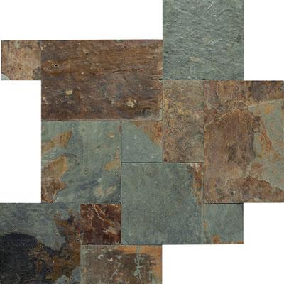 American Olean Stone Source Slate Pattern Versailles Mongolian Spring Versailles Tile & Stone