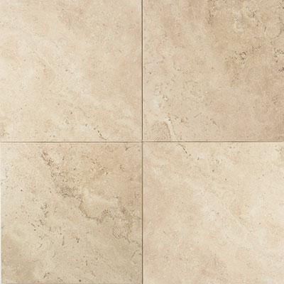 American Olean Stone Source Travertine 12 x 12 Baja Cream Tumbled Tile & Stone