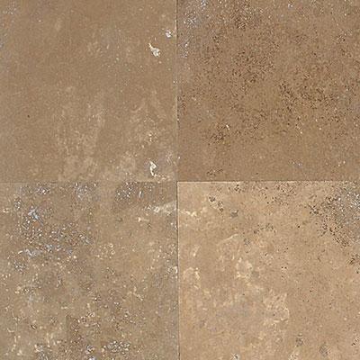 American Olean Stone Source Travertine 12 x 12 Noce Tumbled Tile & Stone