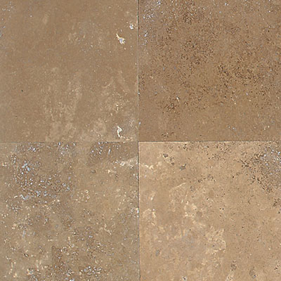 American Olean Stone Source Travertine 12 x 24 Noce Honed Tile & Stone