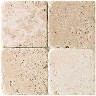 American Olean Tumbled Stone 12 x 12 Ivory Tile & Stone
