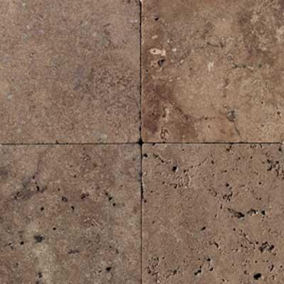 American Olean Tumbled Stone 18 x 18 Mocha Tile & Stone