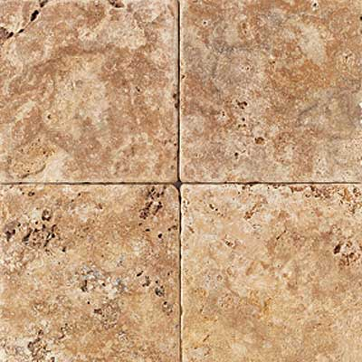 American Olean Tumbled Stone 12 x 12 Puerto Gold Tile & Stone