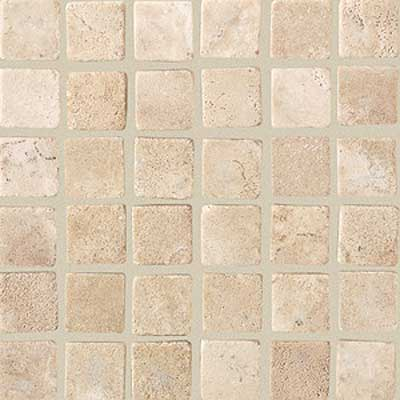 American Olean Tumbled Stone Mosaic Azteca Straight Tile & Stone