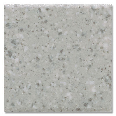 American Olean Unglazed Porcelain Hexagon Mosaics 1 x 1 Light Smoke Speckled (1) Tile & Stone