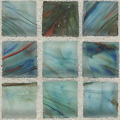 American Olean Visionaire Straight Joint Frosted Peaceful Sea Tile & Stone
