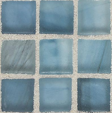 American Olean Visionaire Straight Joint Frosted Serenity Blue Tile & Stone