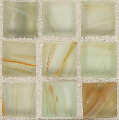 American Olean Visionaire Straight Joint Frosted Tranquil Spa Tile & Stone