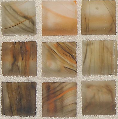 American Olean Visionaire Straight Joint Frosted Warm Sunset Tile & Stone